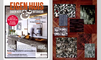 In the media company arte wallcovering - Outdoor deco huis ...