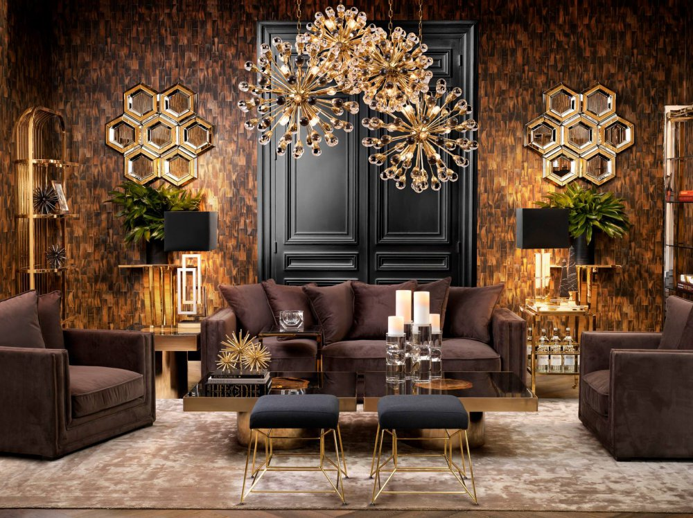 Eichholtz interiors projects arte wallcovering for Image of interior design