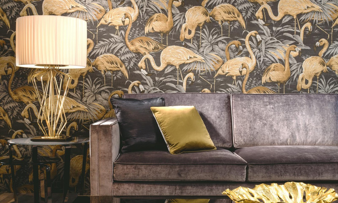 Flamingo Avalon Wallpaper Inspired By Natural Patterns And