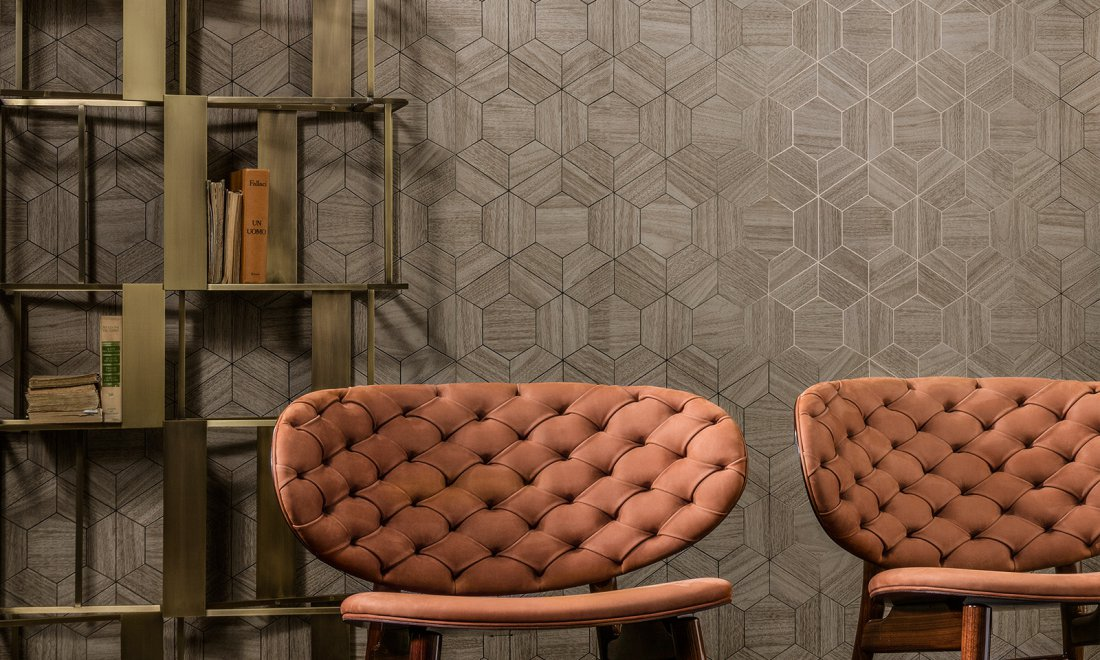 Hive Ligna Wallcovering Inspired By The Forest