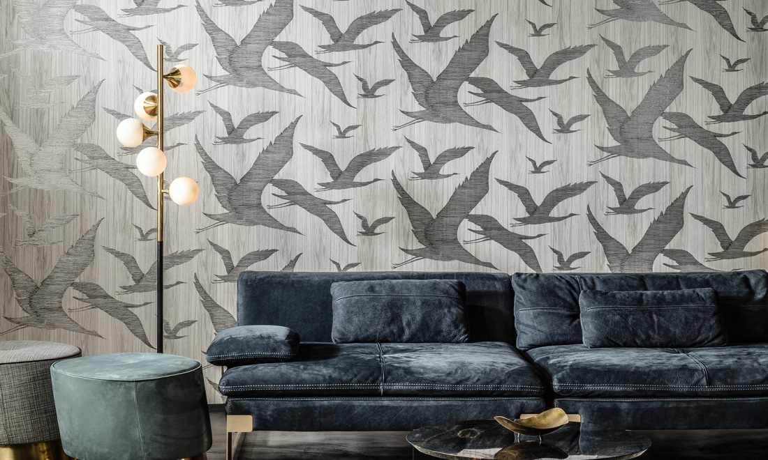 Hover Ligna Wallcovering Inspired By The Forest