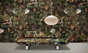 moooi wallcovering Extinct Animals