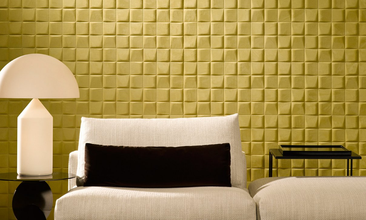 Select | Enigma, an exquisite three-dimensional textile wallcovering ...